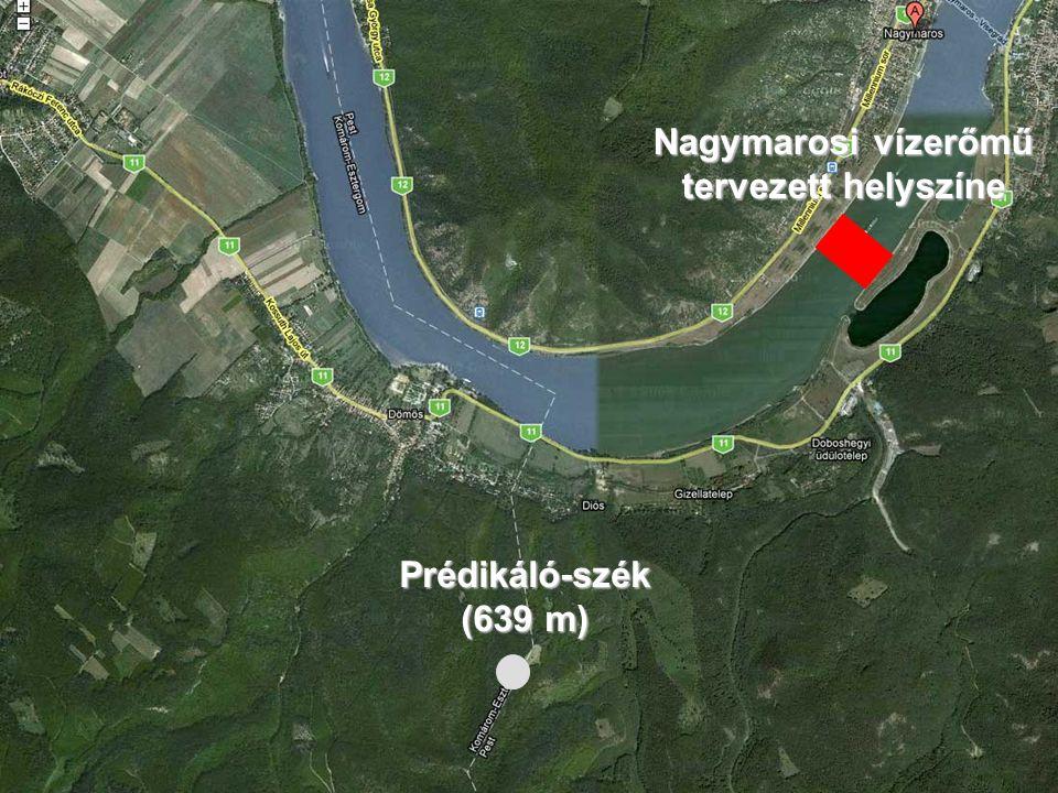 Nagymarosi vízerőmű tervezett helyszíne