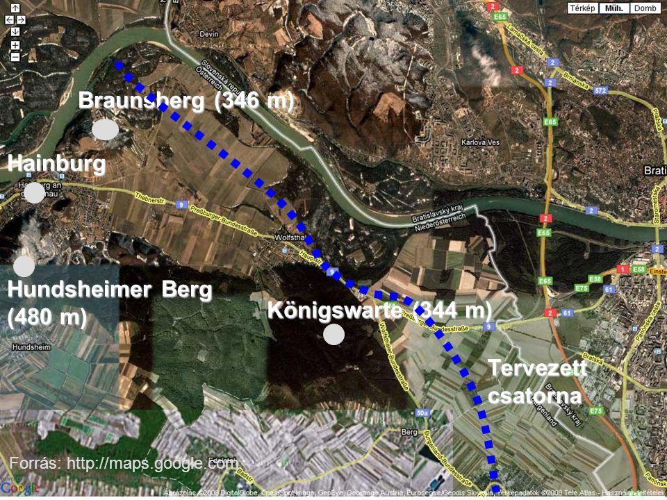 Braunsberg (346 m) Hainburg Hundsheimer Berg (480 m)