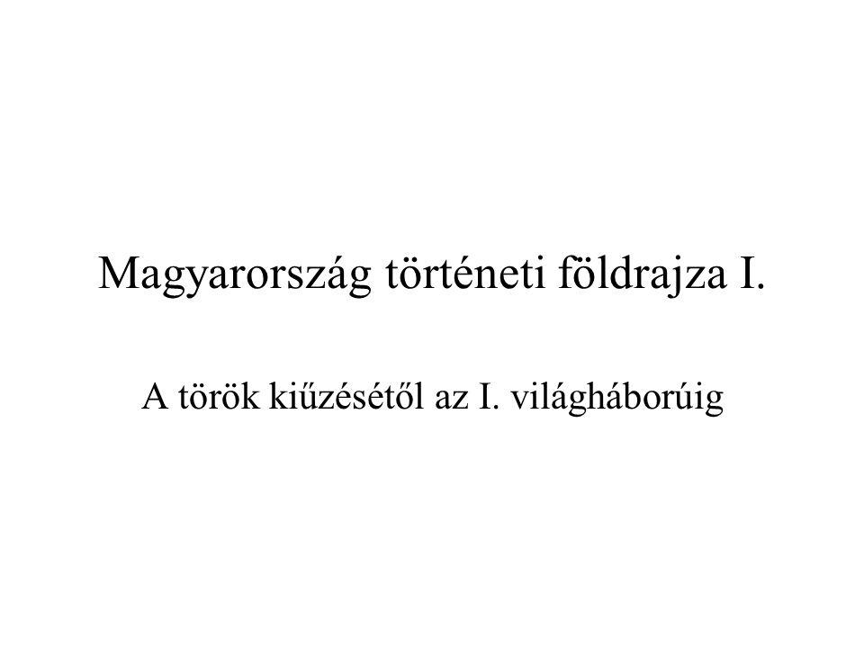 Magyarország történeti földrajza I.