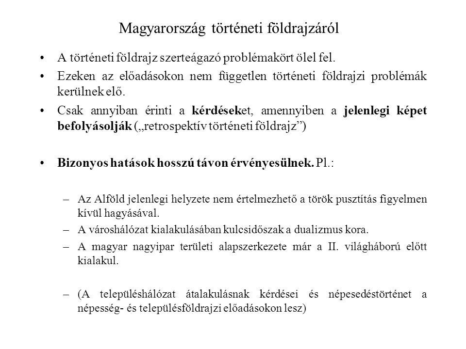 Magyarország történeti földrajzáról