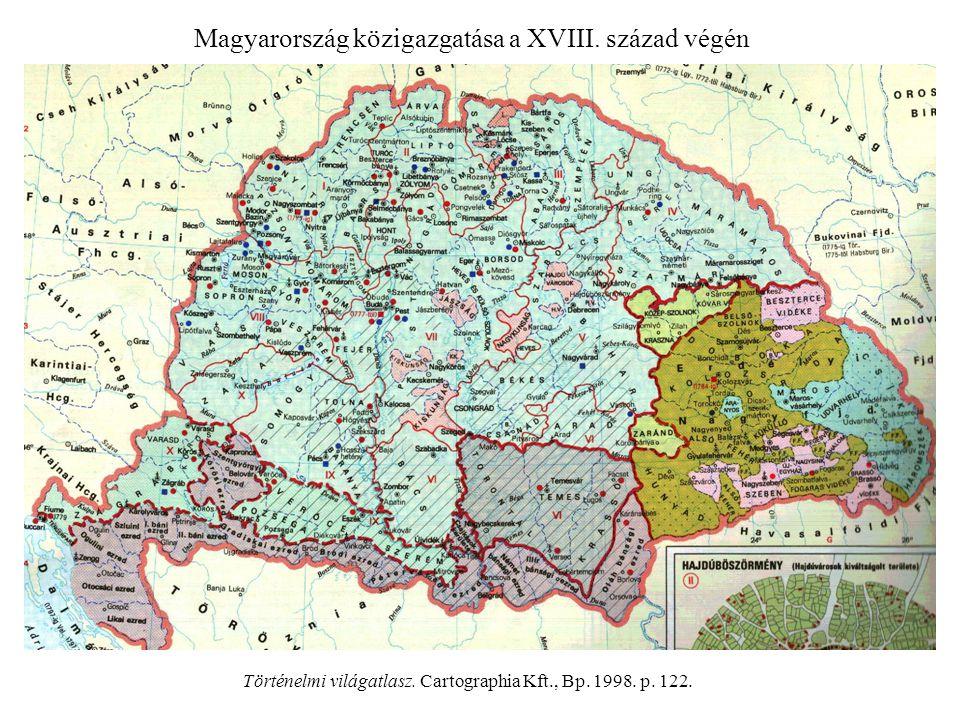 Magyarország közigazgatása a XVIII. század végén