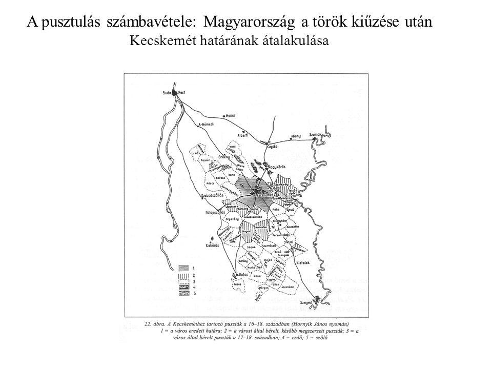 A pusztulás számbavétele: Magyarország a török kiűzése után Kecskemét határának átalakulása