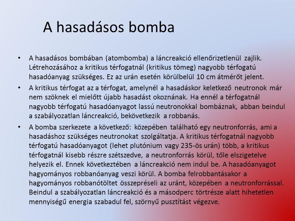 A hasadásos bomba