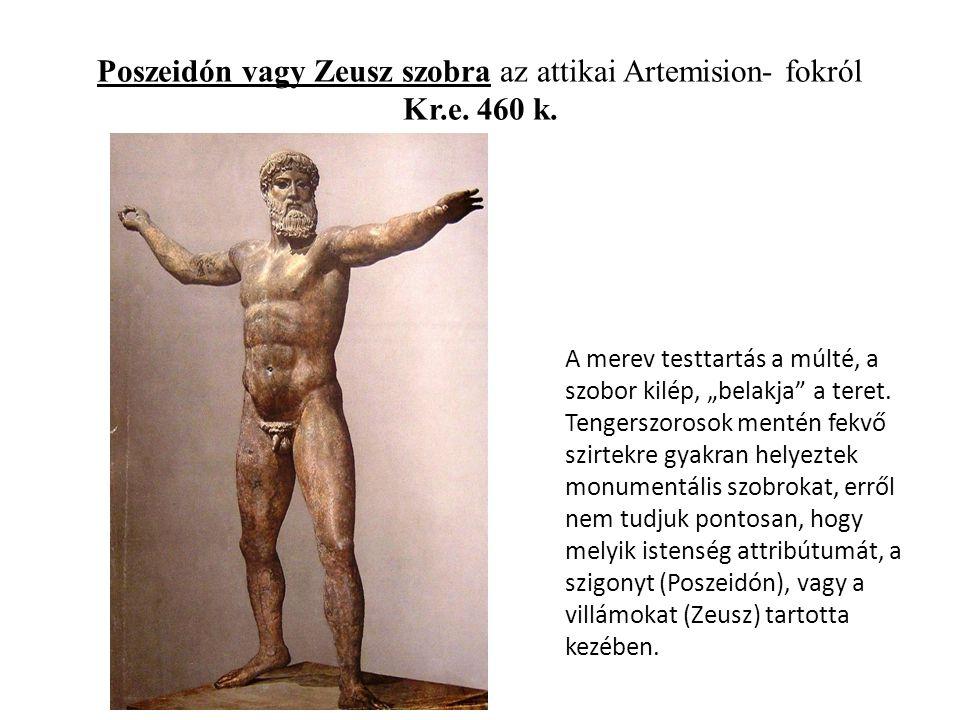 Poszeidón vagy Zeusz szobra az attikai Artemision- fokról Kr.e. 460 k.