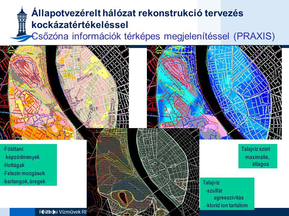 Állapotvezérelt hálózat rekonstrukció tervezés kockázatértékeléssel