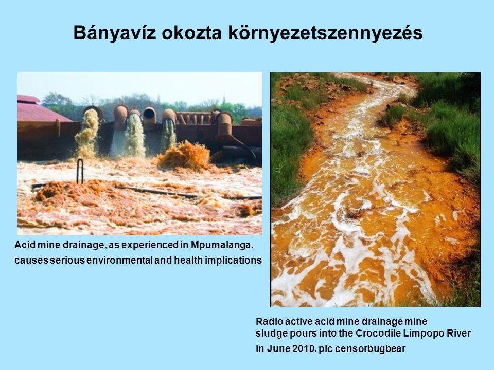 Bányavíz okozta környezetszennyezés