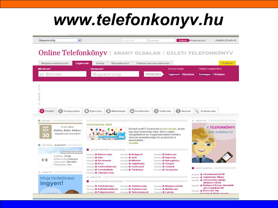 www.telefonkonyv.hu