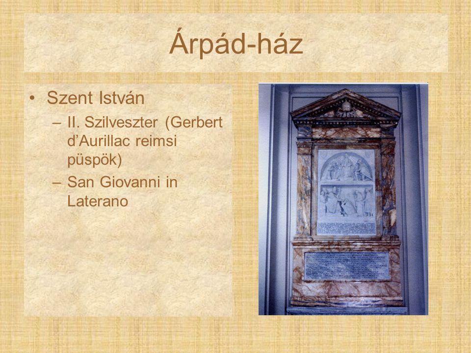 Árpád-ház Szent István