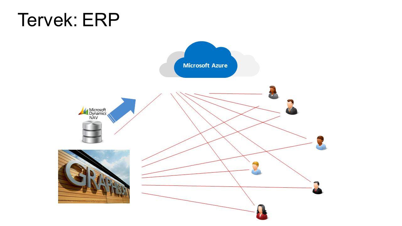 Tervek: ERP Microsoft Azure Mint az autentikációnál.