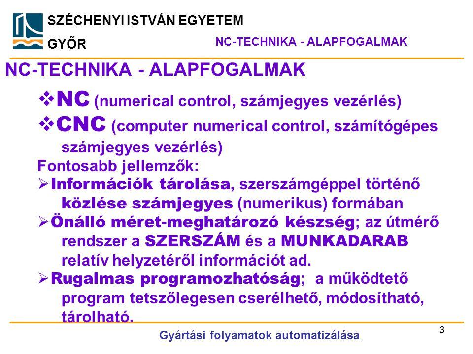 NC-TECHNIKA - ALAPFOGALMAK