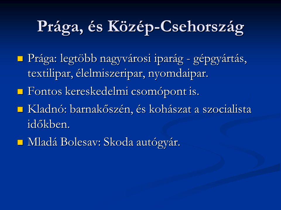 Prága, és Közép-Csehország
