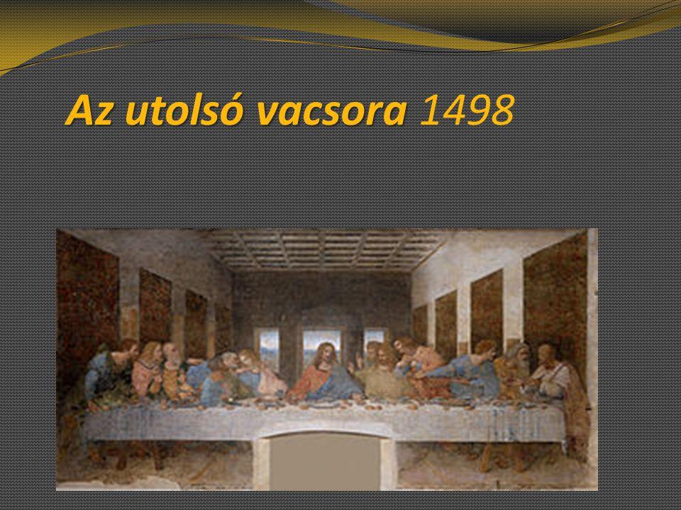 Az utolsó vacsora 1498