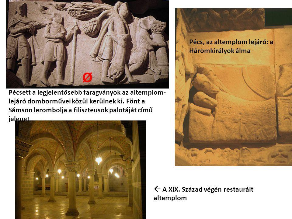 Ø Pécs, az altemplom lejáró: a Háromkirályok álma