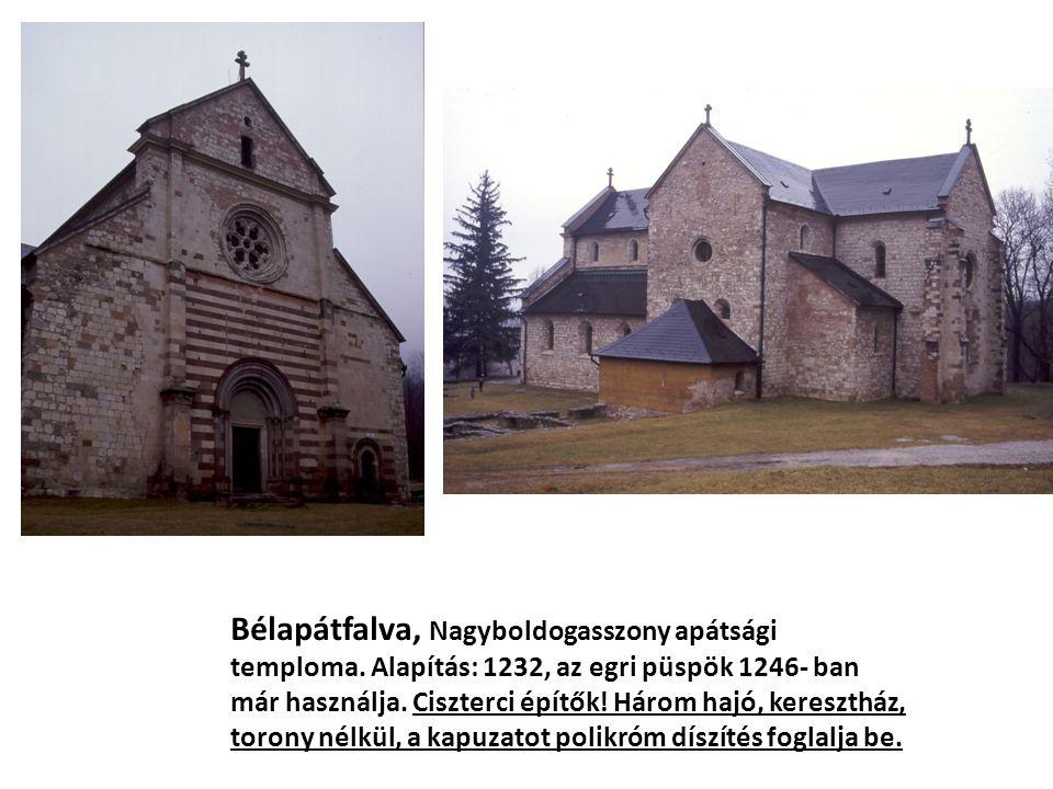 Bélapátfalva, Nagyboldogasszony apátsági temploma