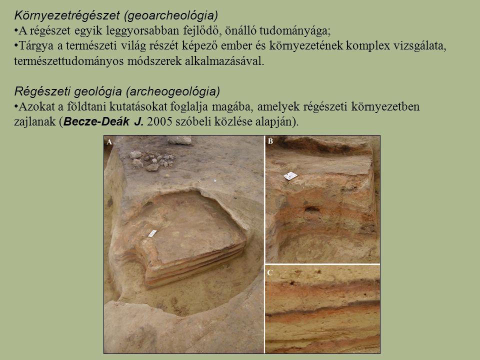 Környezetrégészet (geoarcheológia)