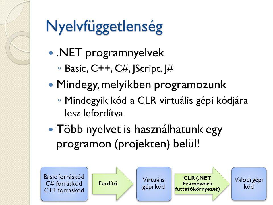 Basic forráskód C# forráskód C++ forráskód