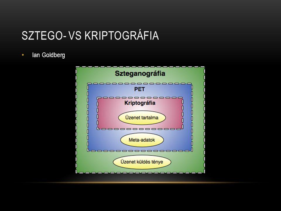 Sztego- vs kriptográfia