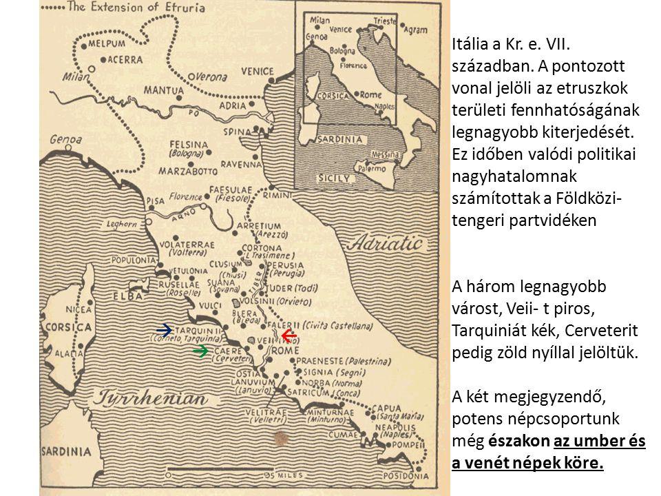 Itália a Kr. e. VII. században