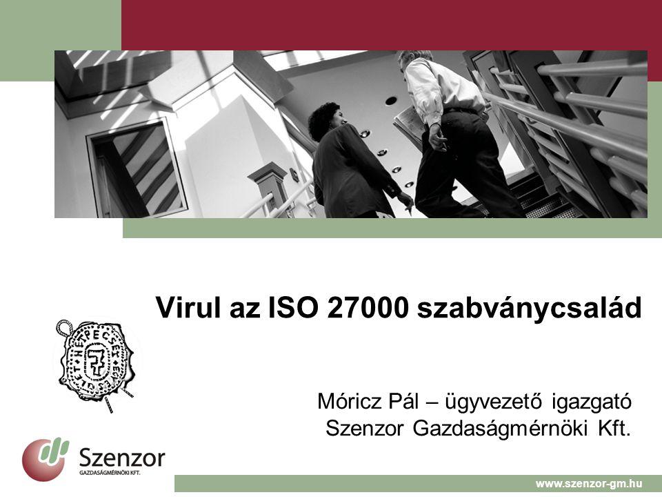 Virul az ISO 27000 szabványcsalád