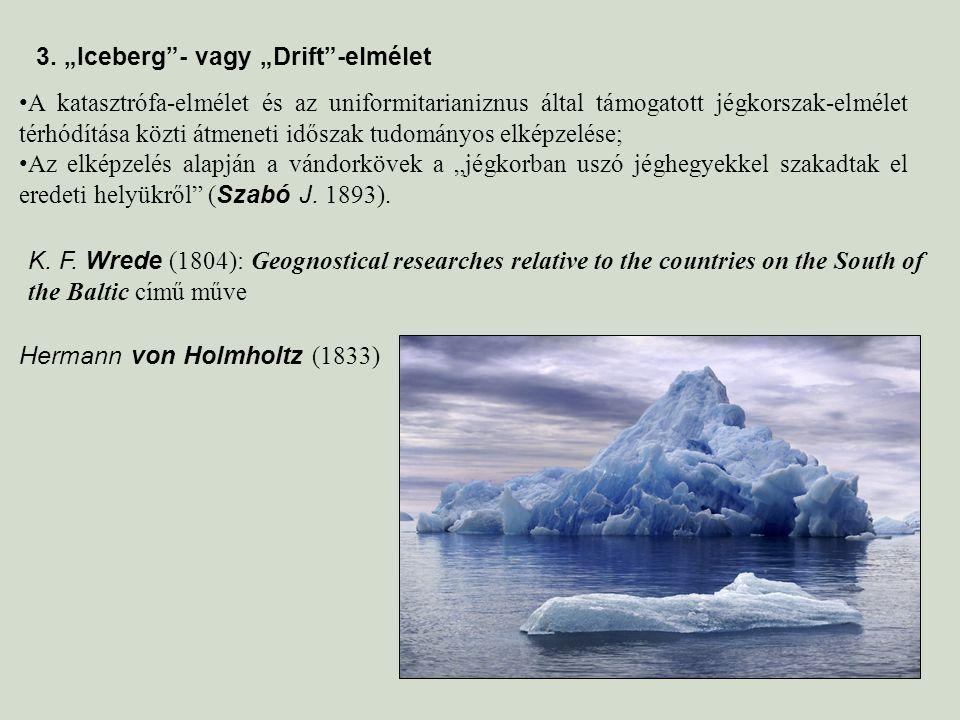 """3. """"Iceberg - vagy """"Drift -elmélet"""