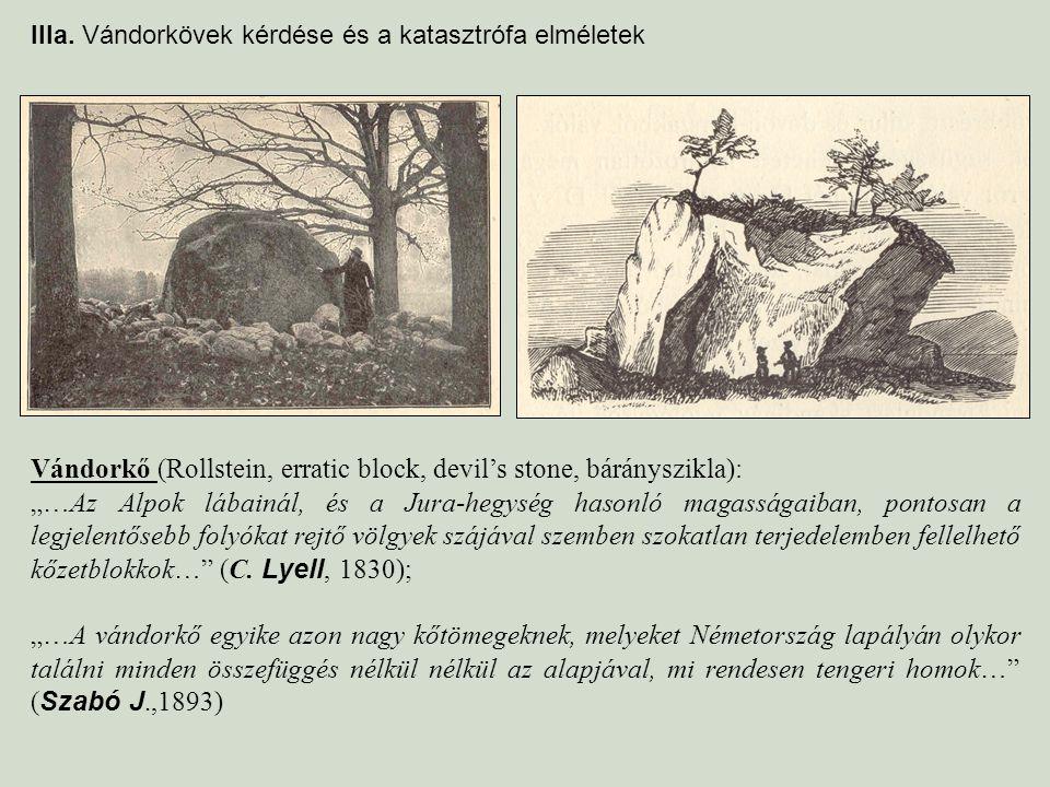 Vándorkő (Rollstein, erratic block, devil's stone, bárányszikla):