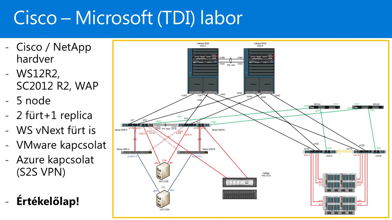Cisco – Microsoft (TDI) labor