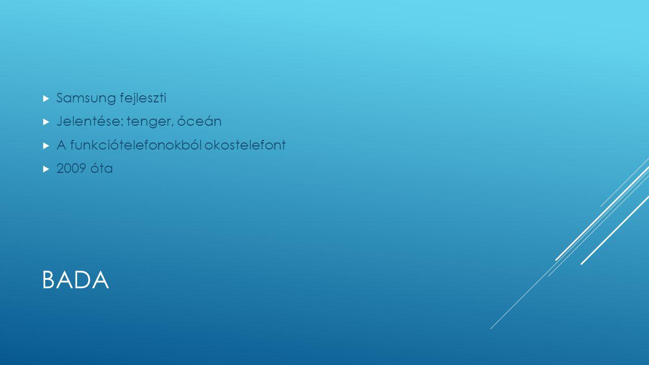 bada Samsung fejleszti Jelentése: tenger, óceán