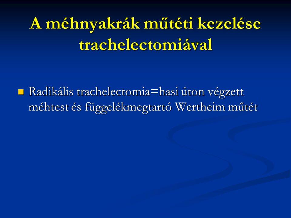 A méhnyakrák műtéti kezelése trachelectomiával