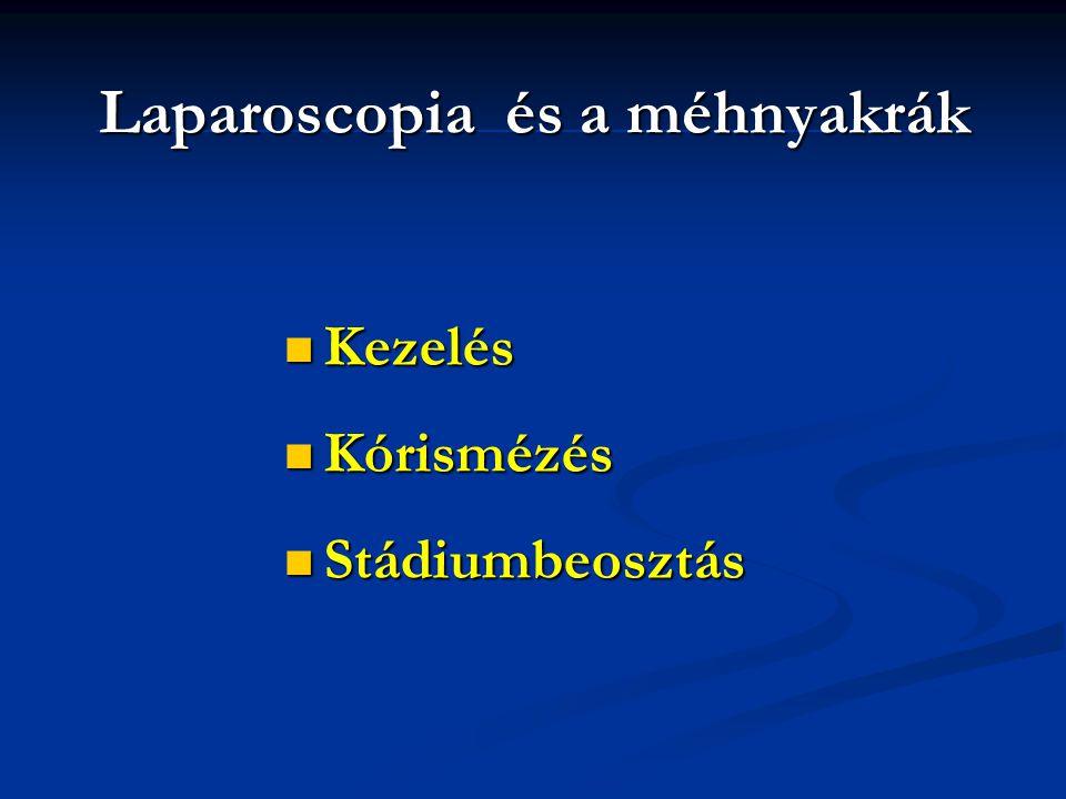 Laparoscopia és a méhnyakrák