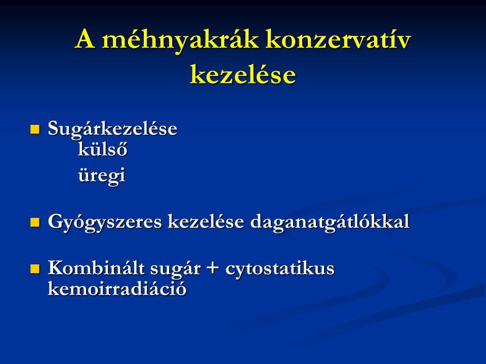 A méhnyakrák konzervatív kezelése