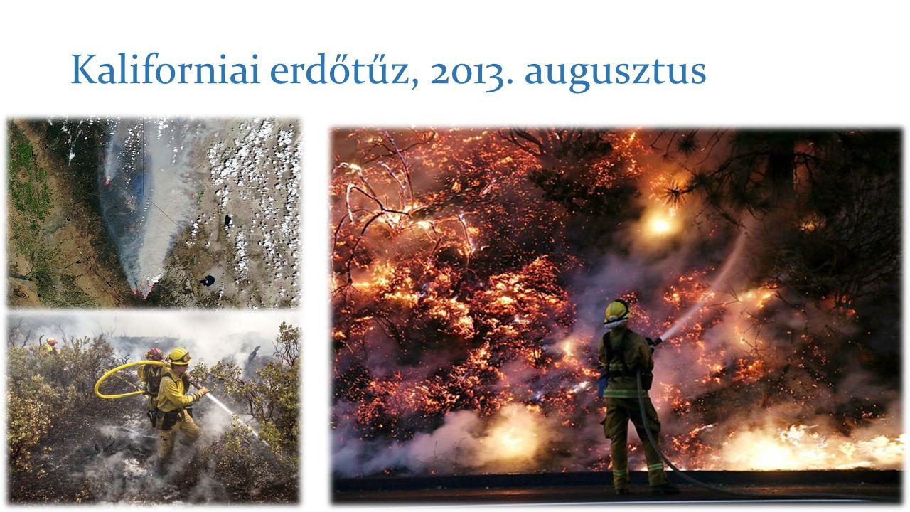 Kaliforniai erdőtűz, 2013. augusztus