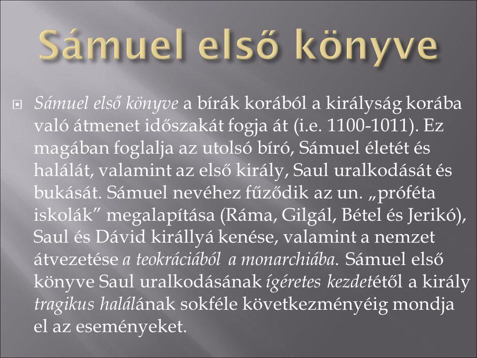 Sámuel első könyve