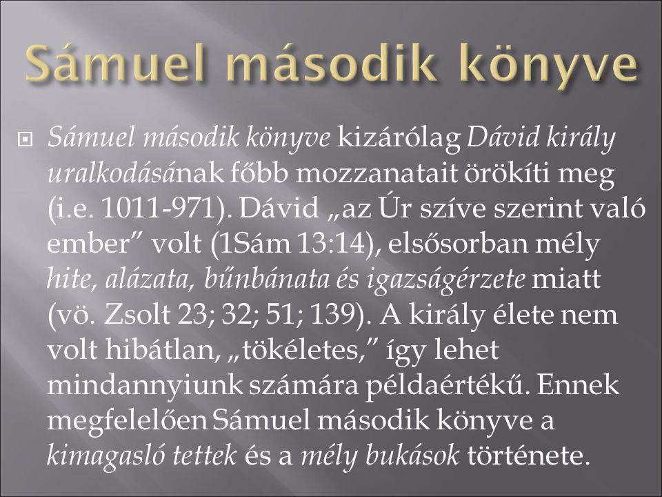 Sámuel második könyve