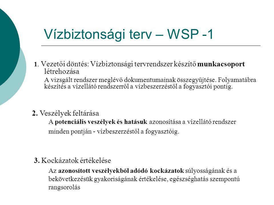 Vízbiztonsági terv – WSP -1