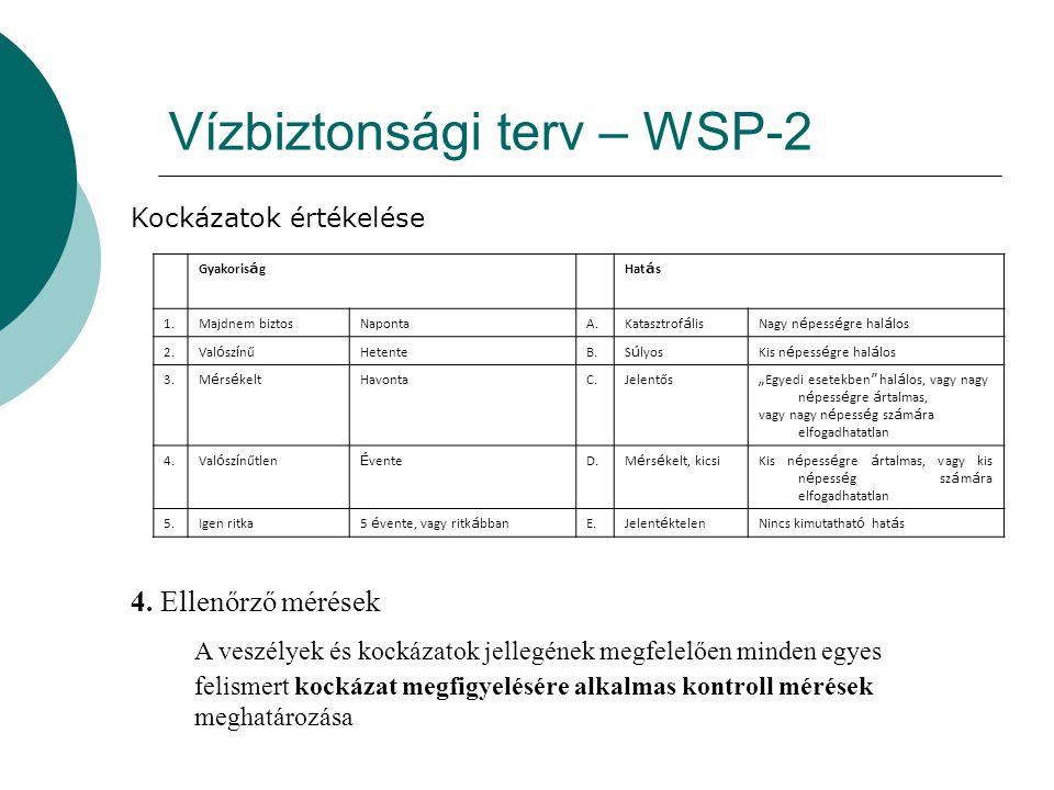 Vízbiztonsági terv – WSP-2