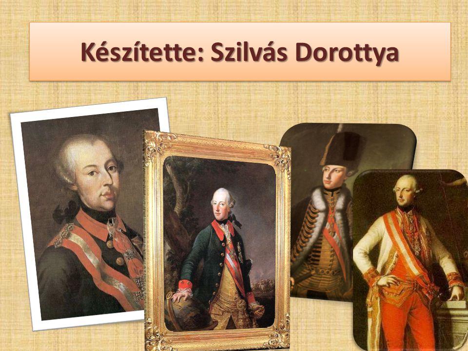 Készítette: Szilvás Dorottya