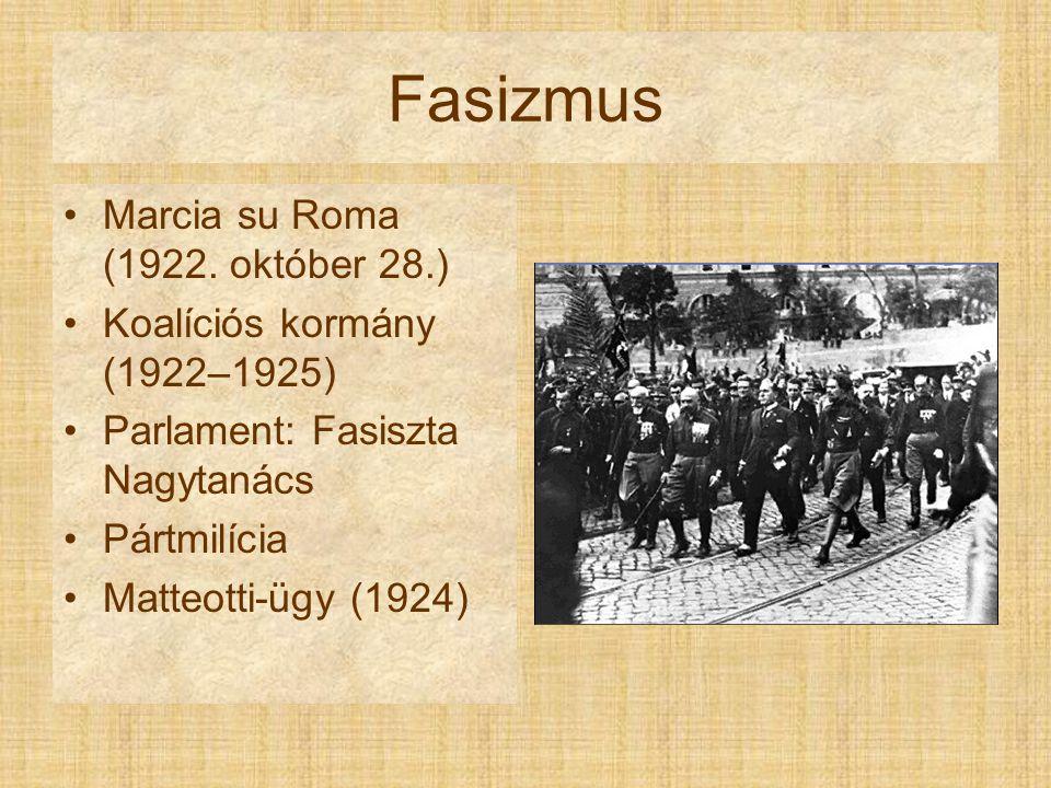 Fasizmus Marcia su Roma (1922. október 28.)