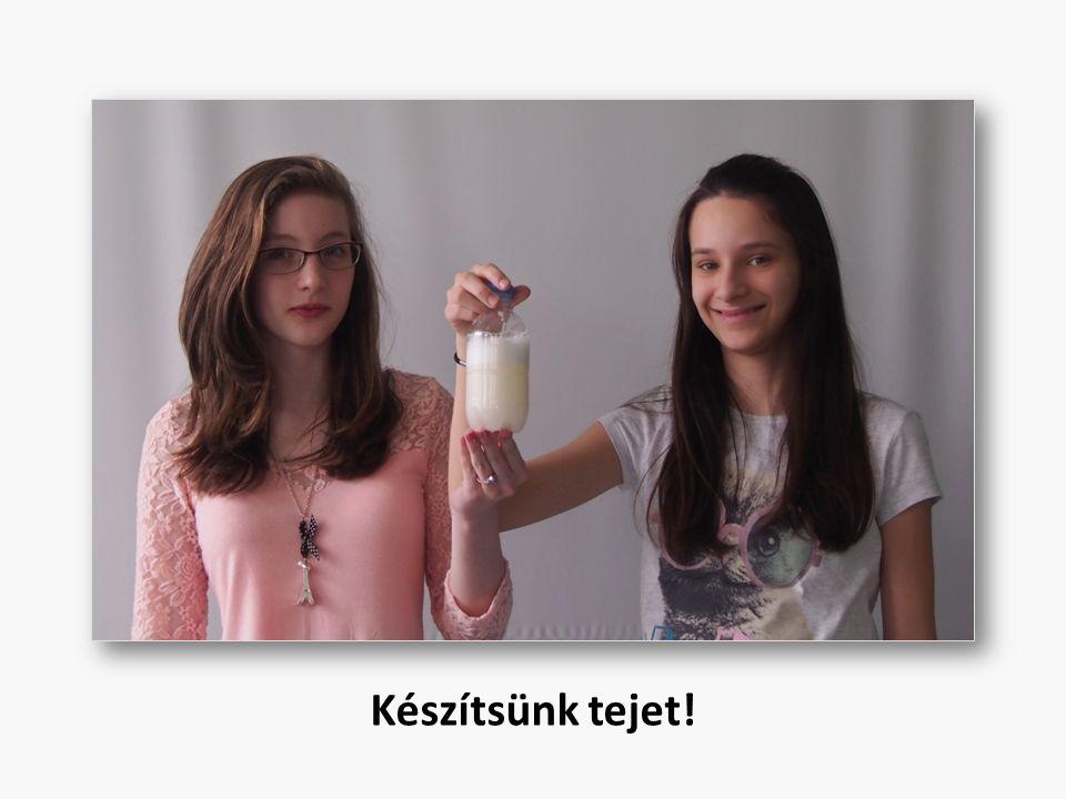 Készítsünk tejet!