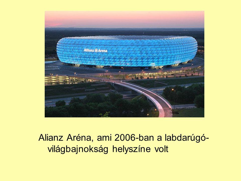 Alianz Aréna, ami 2006-ban a labdarúgó-világbajnokság helyszíne volt