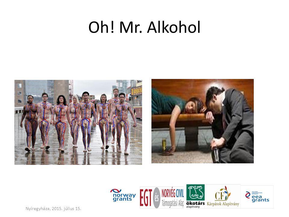 Oh! Mr. Alkohol Nyíregyháza, 2015. július 15.