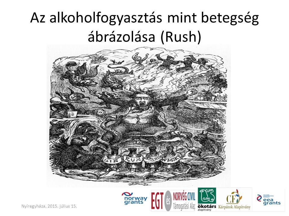 Az alkoholfogyasztás mint betegség ábrázolása (Rush)