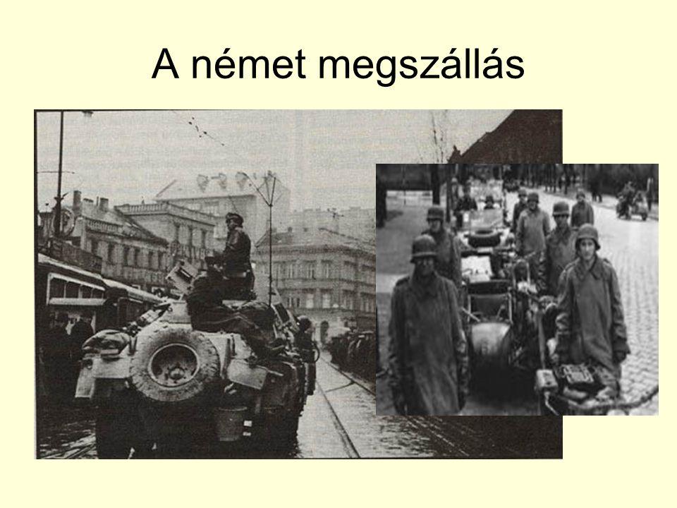A német megszállás