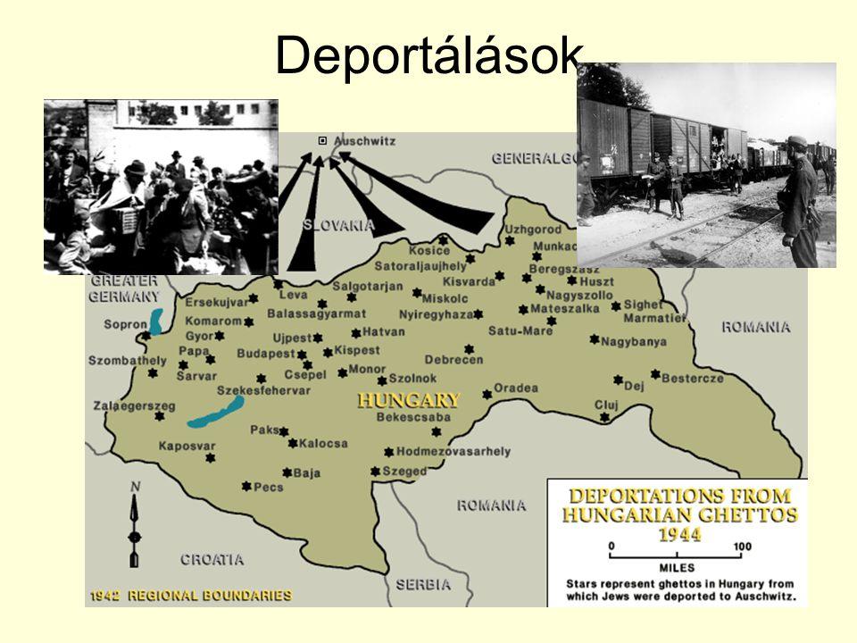 Deportálások
