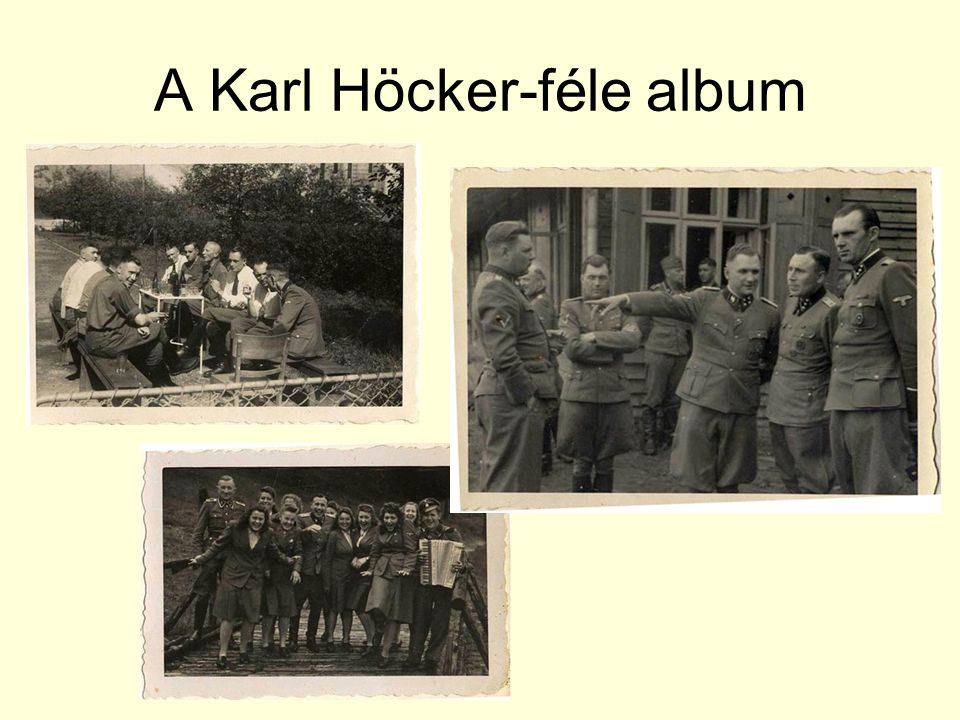 A Karl Höcker-féle album