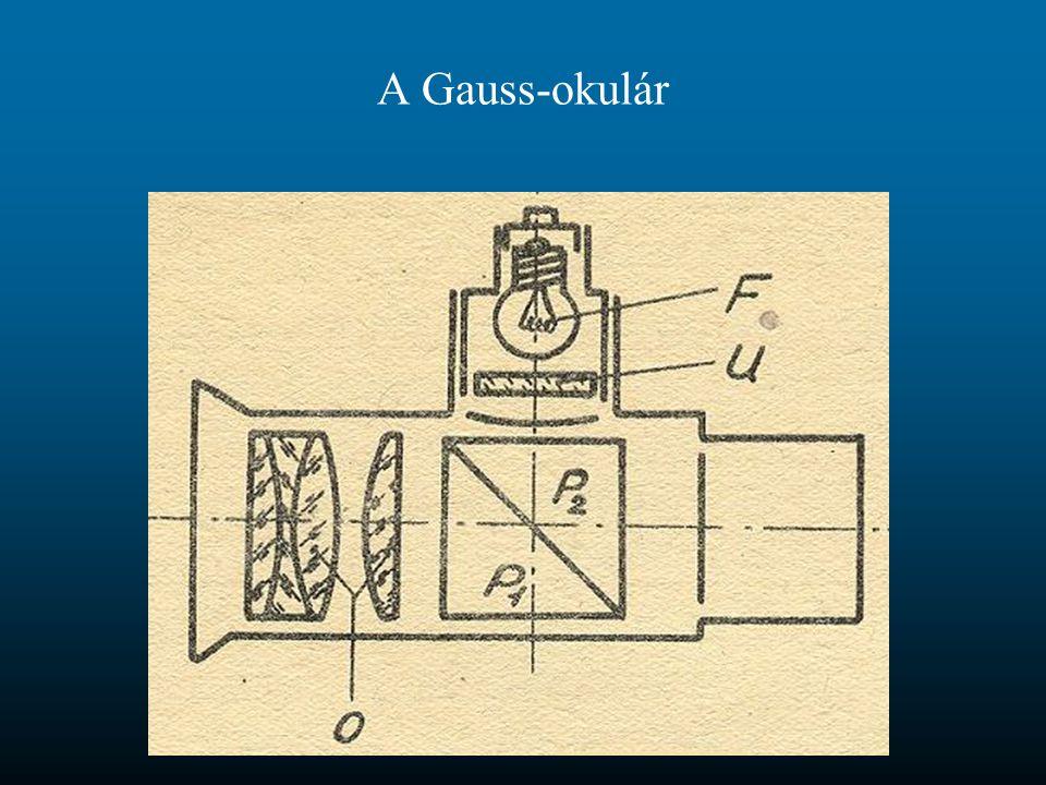 A Gauss-okulár