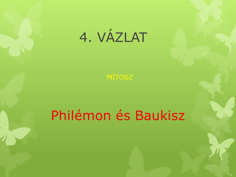 MÍTOSZ Philémon és Baukisz
