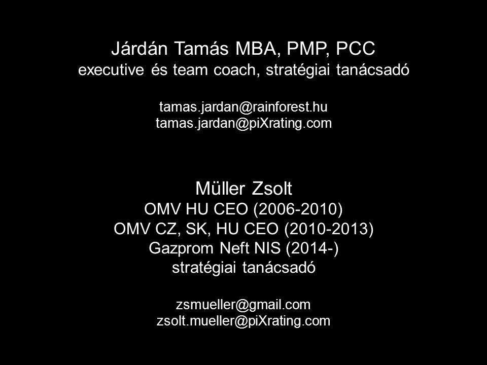Járdán Tamás MBA, PMP, PCC