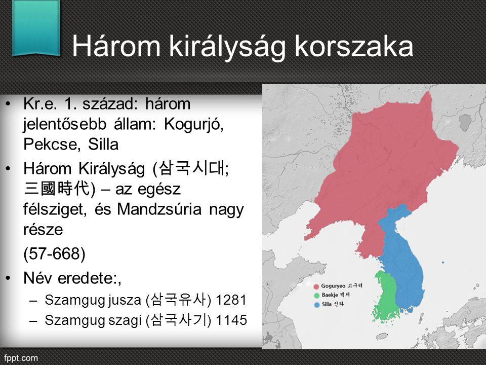 Három királyság korszaka