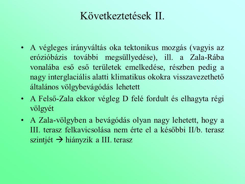 Következtetések II.