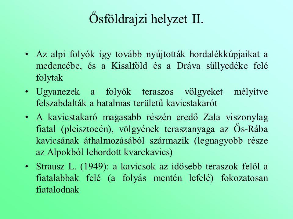 Ősföldrajzi helyzet II.